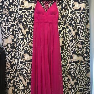 Cache Evening Gown Dress Silk Sz 4